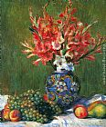 Pierre Auguste Renoir Flowers and Fruit painting