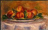 Pierre Auguste Renoir Peaches on a Plate painting