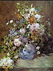 Pierre Auguste Renoir Wall Art - Spring Bouquet