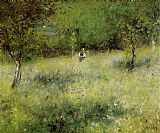 Pierre Auguste Renoir Wall Art - Spring at Catou