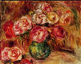 Pierre Auguste Renoir Wall Art - Vase of Flowers II