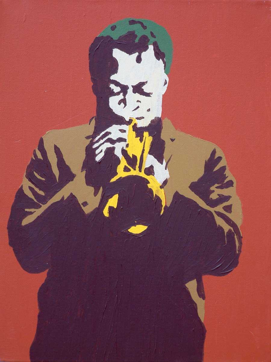 Pop Art Miles 1960 On Rust Painting Framed Paintings