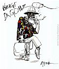 Ralph Steadman Art - Fear And Loathing In Las Vegas I