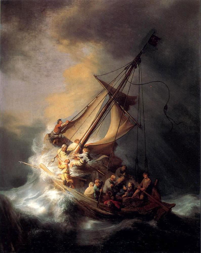 Famous Storm Paintings