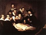 Rembrandt The Anatomy Lesson of Dr Tulp painting
