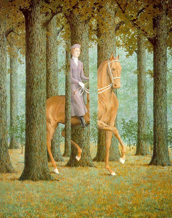 Rene Magritte The Blank Check