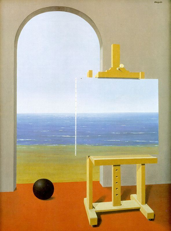 Rene Magritte The Human Condition