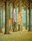 Rene Magritte The Blank Check painting