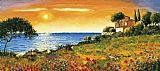 Famous Coast Paintings - Sunlight Coast