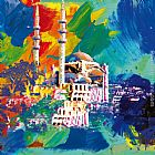 Robert Holzach istanbul painting