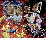 Robert Williams The Ouija Board painting