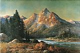 Robert Wood - Evening in the Tetons