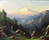 Robert Wood - Mt. Ranier at Sunset