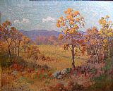 Robert Wood West Texas - Fall painting