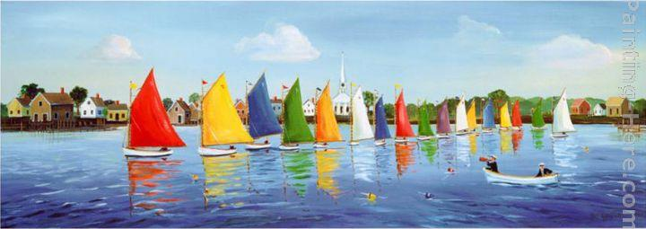 Sally Caldwell-Fisher Rainbow Regatta