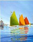 Sally Caldwell-Fisher - Cape Cod Sail