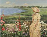 Famous Island Paintings - Long Island Sound