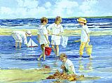 Famous Island Paintings - Summer on Long Island