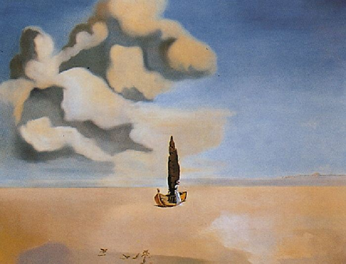 Salvador Dali Apparition of My Cousin Carolinetta