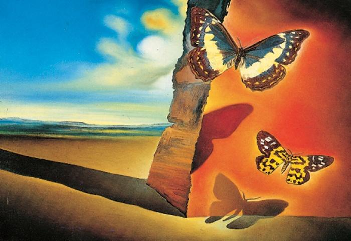 Famous butterfly paintings - photo#4