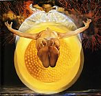 Salvador Dali Canvas Paintings - Ascension