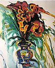 Salvador Dali Flowers for Gala painting