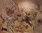 Salvador Dali Maelstrom painting
