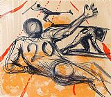 Salvador Dali Sports painting