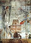 Salvador Dali The Discovery of America by Christopher Columbus painting