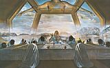 Salvador Dali The Sacrament of the Last Supper painting