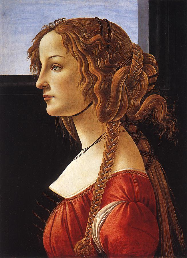 Sandro Botticelli Portrait of a Young Woman