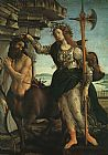Sandro Botticelli Pallas and the Centaur painting