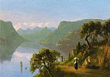 Famous Lake Paintings - Lake Como