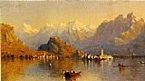 Famous Lake Paintings - Lake Maggiore
