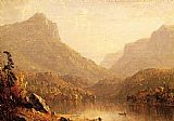 Famous Lake Paintings - Lake Scene