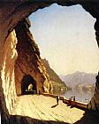 Sanford Robinson Gifford Famous Paintings - The Galleries of the Stelvio, Lake Como