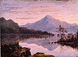 Sanford Robinson Gifford Wall Art - Toung Mountain, Lake George