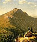 Sanford Robinson Gifford Wall Art - View of Catskills