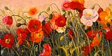 Shirley Novak Poppy Party painting