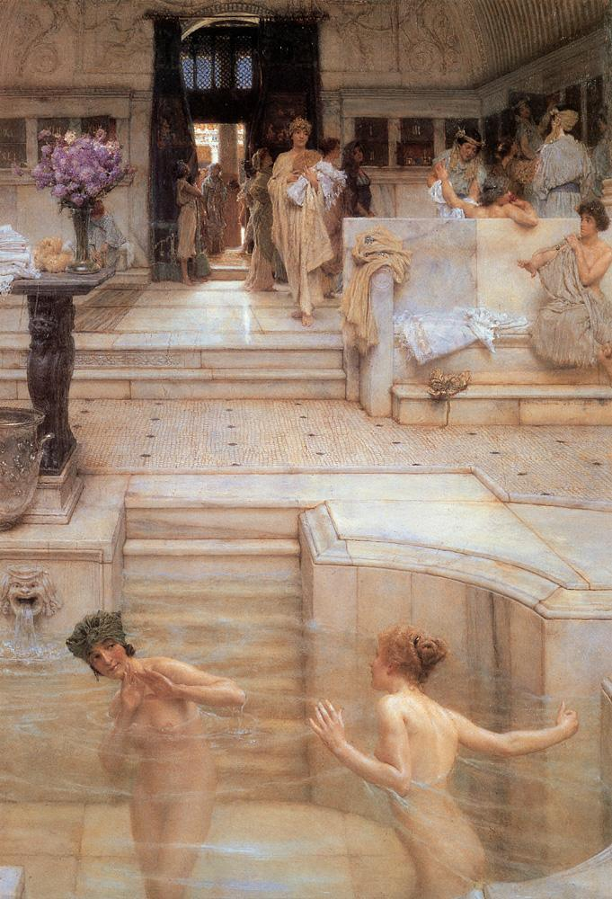 Sir Lawrence Alma-Tadema A Favorite Custom