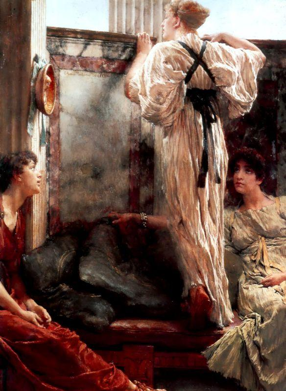 Sir Lawrence Alma-Tadema Who is it
