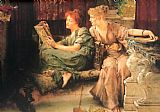 Sir Lawrence Alma-Tadema Comparisons painting