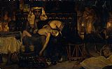 Famous Death Paintings - Death of the Pharaoh's Firstborn Son