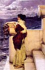 Sir Lawrence Alma-Tadema Hero painting