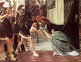 Sir Lawrence Alma-Tadema Proclaiming Claudius Emperor painting