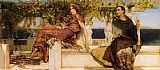 Famous Saint Paintings - The Conversion Of Paula By Saint Jerome
