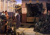 Famous Market Paintings - The Flower Market