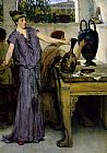 Sir Lawrence Alma-Tadema pottery painting