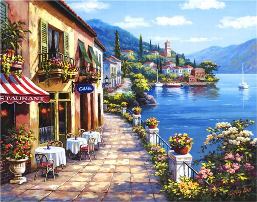 Sung Kim Overlook Cafe I
