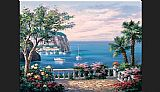 Sung Kim Costa del Sol painting